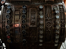 Keyboard Of The Vintage Cash Register
