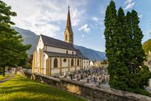 Stadt Landeck Pfarrkirche In Tirol