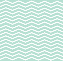 Simple Pattern With Abstract Zigzag Light Blue And White Lines, Retro, Art, Design For Decoration, Wrapping Paper, Print, Fabric Or Textile, Cute Wallpaper, Modern Texture, Vector Illustration
