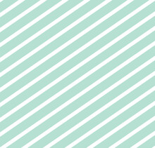 Simple Pattern With Abstract Diagonal Light Blue And White Lines, Retro, Art, Design For Decoration, Wrapping Paper, Print, Fabric Or Textile, Cute Wallpaper, Modern Texture, Vector Illustration