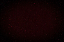 Red Night Sky With Stars.  Stars In The Night.  3D Photo Of Galaxy Space Background.  Photo Can Be Used For Christmas, New Year And All Celebrations.