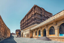 Mehrangarh Fort In Rajasthan, India