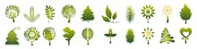 Set Of Grass. Environment Icons. Set Of Environment Icons.