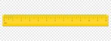 Ruler Inch Scale Vector Plastic Measurement