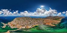 Vavignana Sicily Italy 360° X 180° Vr Airpano