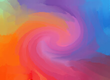 Colourful Abstract Gradient Background. Pastel Colors In Soft Swirl Wallpaper.