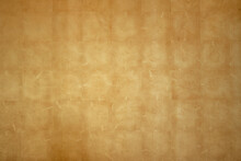 Natural Gold Leaf Wall Cladding Texture Background
