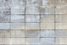Paint Stained Concrete Wall Grunge Background Texture / ペンキで汚れたコンクリート壁のグランジ背景テクスチャ