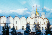 Cathedral Of The Annunciation In Kazan Kremlin, Tatarstan, Russia