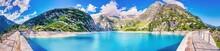 Gelmersee Im Berner Oberland, Alpen, Schweiz