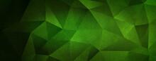Green Geometry Background