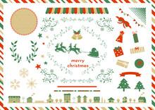 クリスマス イラスト 素材集