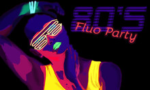 80's Fluo Party