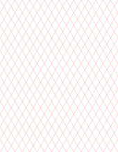 Pattern Line Red Color Background On White Paper 60 Degrees Straight Line Intersects A Diamond Square, Diagonal Line