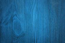 Wooden Wall, Blue Background