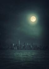 Dark Sity In The Night.