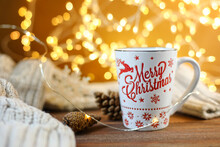 Cup Of Coffee, Merry Christmas Cup