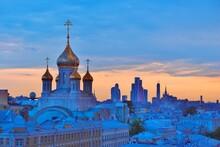 Sretensky Monastery In Moscow