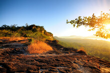 Pha Tam National Park, Ubon Ratchathani, Sunrise Is The First In Thailand,  Meteorological Reports The Official.