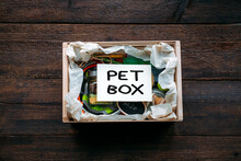 Pet Subscription Box For Dogs And Cats. Subscription Pet Box With Organic Treats, Fun Toy, Bully Sticks, All-Natural Chews, Skincare Or Wellness Item, Gadgets And Seasonal Gear