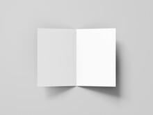 Square Bifold Brochure Mockups
