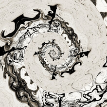 Black And Grey Spiral Background