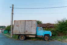 Old Truck Parked In The Countryside, Strandja Mountains, Bulgaria