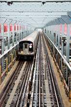 USA, New York, New York City, Commuter Train