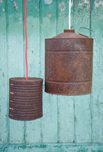 Upcycling Of Old Tin Cans, Lamps