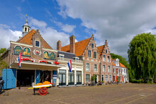 Netherlands, North Holland, Edam, Old Town Cheese Market