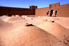 Iran, Kerman Province, Rayen, Well Preserved Interior Of Rayen Castle