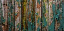 Close-up Of Old Weathered Wooden Wall