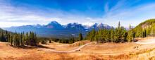 Canada, Alberta, Banff National Park, Near Lake-Louise During Autmn