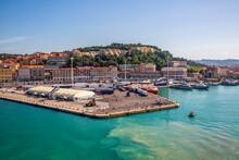 Italy, Province Of Ancona, Ancona, Dock Of Coastal City