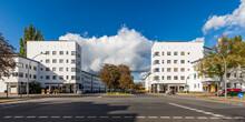 Germany, Berlin, Panorama Of White City (Berlin Modernism Housing Estates)