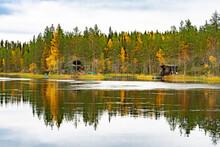 Finish Lake In Septembre