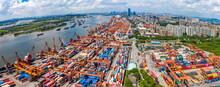 Guangzhou Huangpu Port In Guangdong Province