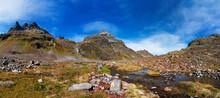 Austria, Vorarlberg, Silvretta, Klostertal, Mountain Stream