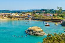 Residential Building By Coastline At SIdari, Corfu, Greece
