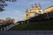 View Of The Smolensk Cathedral.