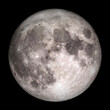canvas print picture - Full Moon.