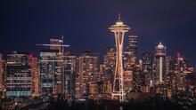 Seattle Skyline, Space Needle Tower