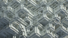 White Monochromatic Digital Building Blocks