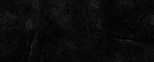 Rocky Dark Black Stone Grunge Distressed Cement Background