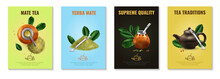 Mate Tea Posters Set