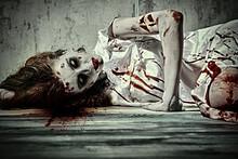 Terrible Disfigured Woman