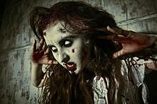 Evil Bloodthirsty Zombie