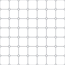 Cross Lined Seamless Minimalistic Pattern, Vector Minimal Crossed Lines Background, Stripy Tile Minimal Wallpaper Or Textile Print.