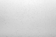 Close-up Photo Of White Colored Stucco Wall Texture.