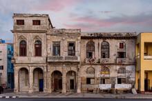 Old Abandoned Building In La Havana, Cuba